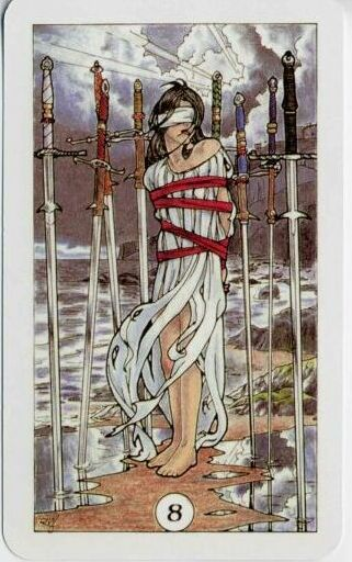 Eight of Swords Robin Wood Tarot